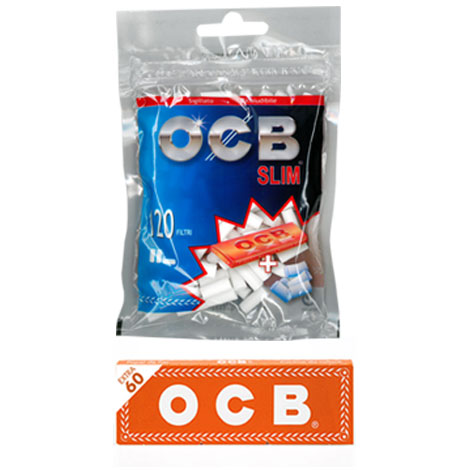OCB FILTRI SLIM + CARTINA ORANGE