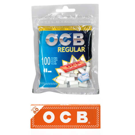 OCB FILTRI REGULAR + CARTINA ORANGE