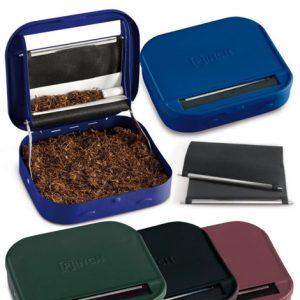 PINCH ROLLING BOX+PORTA TABACCO METALLO 957