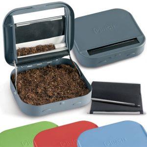 PINCH ROLLING BOX+PORTA TABACCO METALLO