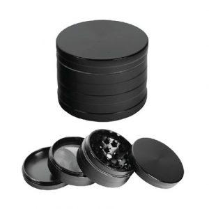 GRINDER METALLIC BLACK 4 PARTI